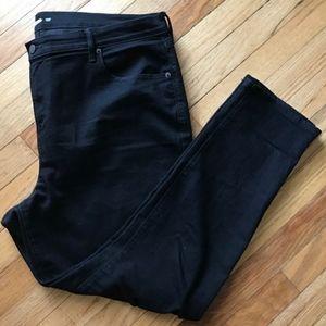 [Old Navy] Black Curvy Skinny Jeans Short